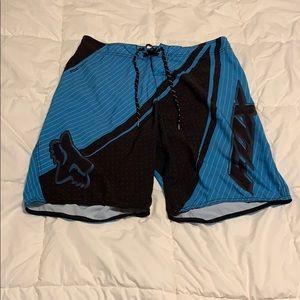 Fox board shorts size 34